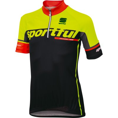 SPORTFUL SC TEAM DRES - black / yellow