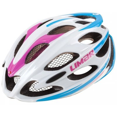 LIMAR ULTRALIGHT+ PRILBA - white / pink